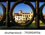 greece  athens  plaka district  ...   Shutterstock . vector #793904956