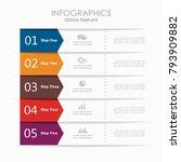 infographic template. vector...   Shutterstock .eps vector #793909882