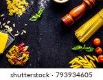ingredients for cooking paste...   Shutterstock . vector #793934605
