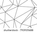 seamless geometric pattern.... | Shutterstock .eps vector #793935688