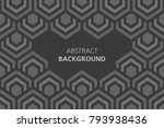black and white abstract... | Shutterstock .eps vector #793938436