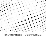 abstract halftone wave dotted... | Shutterstock .eps vector #793943572