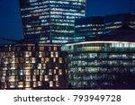 corporate office in london  ... | Shutterstock . vector #793949728