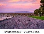 sunset in port augusta ... | Shutterstock . vector #793966456