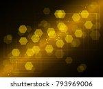 vector illustration of abstract ... | Shutterstock .eps vector #793969006