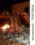 Small photo of Roast Lamb , Patagonia , Argentina