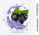 Blackcurrant Juice Splash....