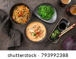 thai food dishes | Shutterstock . vector #793992388