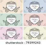 set of six color variation... | Shutterstock .eps vector #79399243