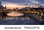 new year moscow in the evening | Shutterstock . vector #794010976