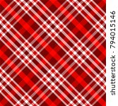 seamless traditional scottish... | Shutterstock .eps vector #794015146