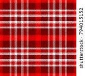 seamless traditional scottish... | Shutterstock .eps vector #794015152