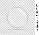 transparent glass sphere | Shutterstock .eps vector #794020555