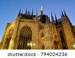 milano duomo  church   Shutterstock . vector #794024236
