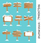 vector illustration set of... | Shutterstock .eps vector #794047546