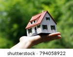 real estate  mortgage  buy a...   Shutterstock . vector #794058922