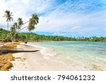 panorama of famous secluded... | Shutterstock . vector #794061232