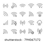 simple collection of... | Shutterstock .eps vector #794067172