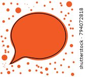 chat icon vector illustration...   Shutterstock .eps vector #794072818