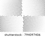 abstract halftone wave dotted...   Shutterstock .eps vector #794097406