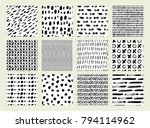 collections of design elements. ... | Shutterstock .eps vector #794114962