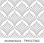 seamles dots pattern  abstract...   Shutterstock .eps vector #794117362