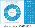 business success infographic... | Shutterstock .eps vector #794126296