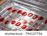 colony characteristics of...   Shutterstock . vector #794137756