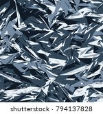 abstract vector blue military... | Shutterstock .eps vector #794137828
