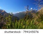 landscape on the routeburn... | Shutterstock . vector #794145076