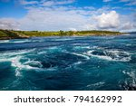 whirlpools of the maelstrom of... | Shutterstock . vector #794162992