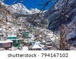 tosh village in himachal... | Shutterstock . vector #794167102