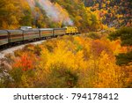 crawford notch  new hampshire   ... | Shutterstock . vector #794178412