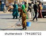saint louis  senegal   apr 24 ... | Shutterstock . vector #794180722