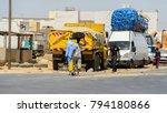 road to st. louis  senegal  ... | Shutterstock . vector #794180866