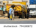 road to st. louis  senegal  ... | Shutterstock . vector #794180872