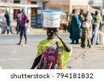 saint louis  senegal   apr 24 ... | Shutterstock . vector #794181832
