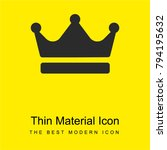 crown bright yellow material... | Shutterstock .eps vector #794195632