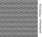 seamless pattern with striped... | Shutterstock .eps vector #794201116