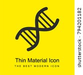 dna code bright yellow material ...