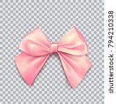 Pink Bow For Packing Gifts....