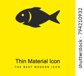 raw fish bright yellow material ...
