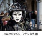 venice  italy   february 18 ...   Shutterstock . vector #794212618
