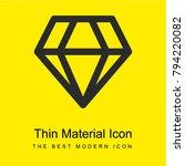 big diamond bright yellow...