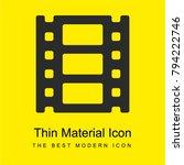 film roll bright yellow...