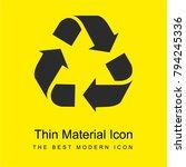 recycle triangular symbol of...