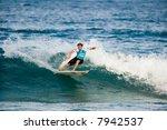 professional surfer in 2007... | Shutterstock . vector #7942537