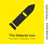 rocket bright yellow material...