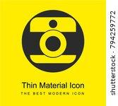 hipstamatic logo bright yellow...