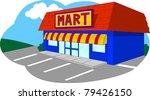 convenient store  convenient... | Shutterstock .eps vector #79426150